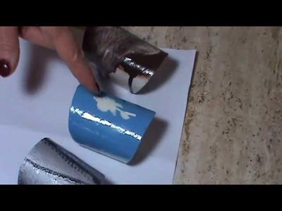 Tutorial - da rotolo carta igienica a bracciale