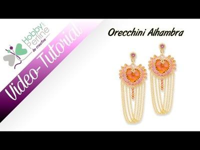 "Orecchini ""Alhambra"" | TUTORIAL - HobbyPerline.com"