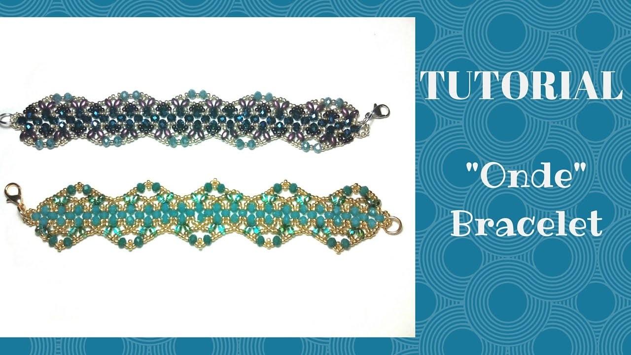 "Tutorial perline: bracciale ""Onde""|Beading tutorial: ""Onde"" bracelet"