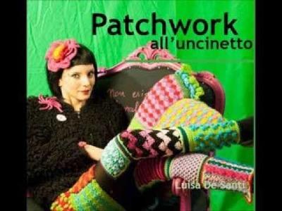 Patchwork all'uncinetto, il nuovo libro.