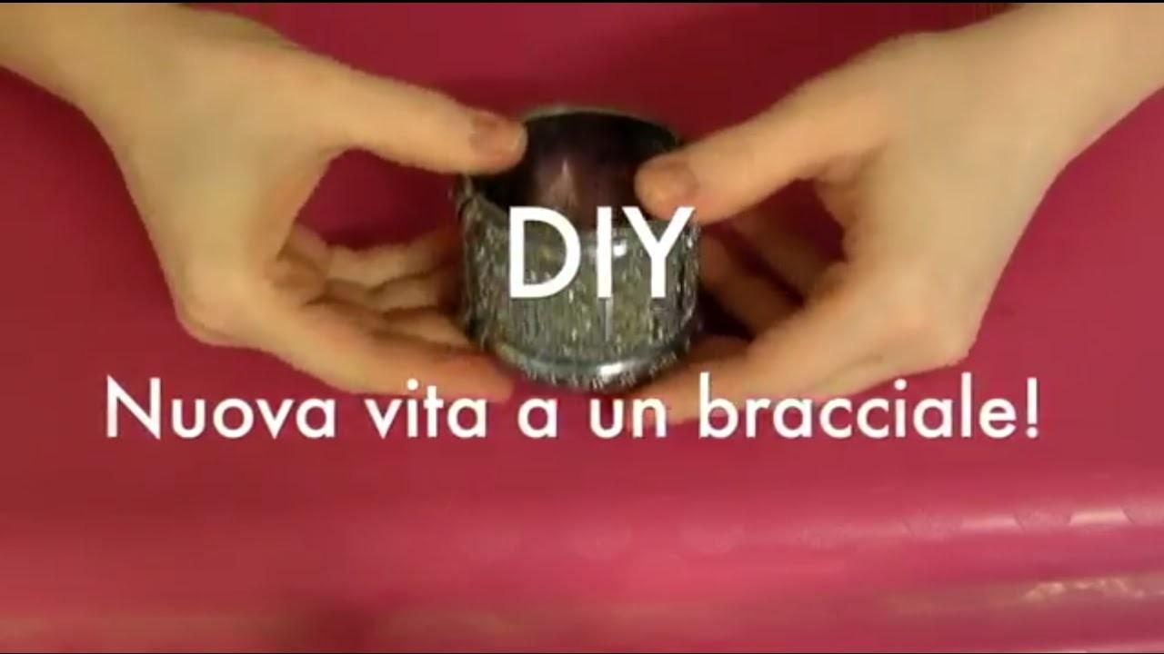 DIY: Bracciale Coloriamolo con gli smalti!
