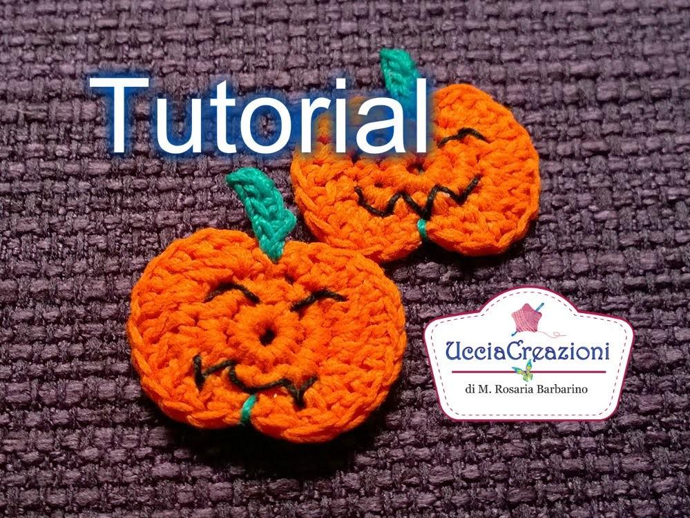 Tutorial 19. * Zucca  all'Uncinetto Halloween * . How to Crochet a Pumpkin