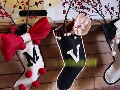 Calza della befana DIY - christmas stocking