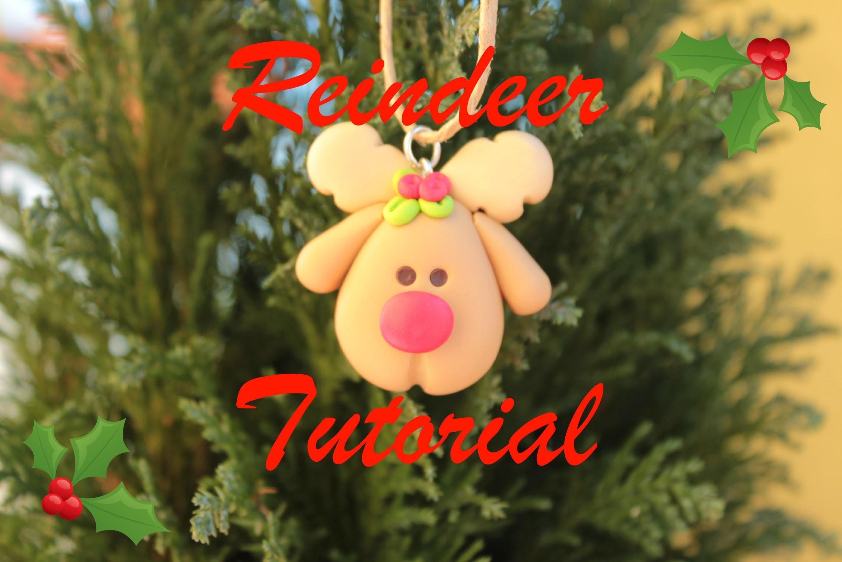 Christmas DIY #1: Polymer Clay Reindeer - Renna