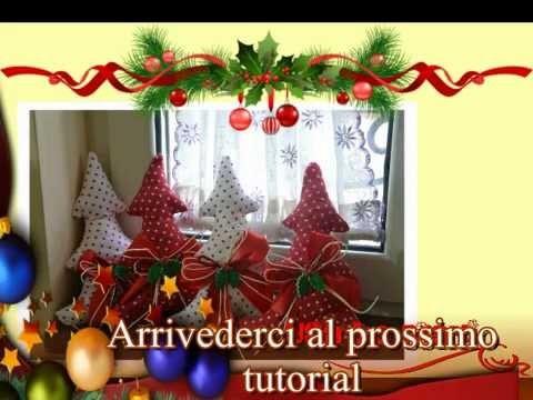Tutorial Natale: cucito creativo Albero di Natale. creative sewing Christmas tree
