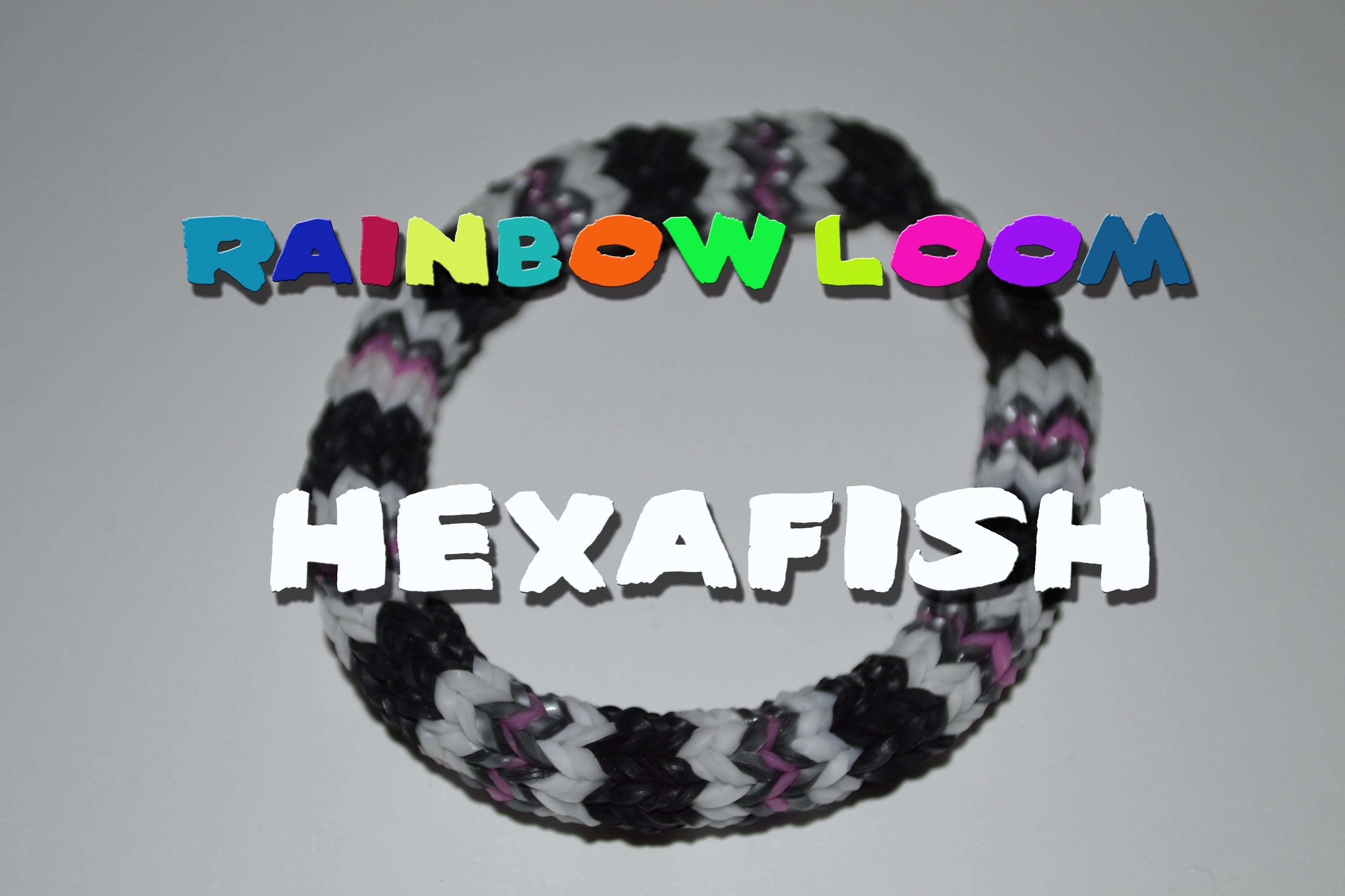 Rainbow Loom - Tutorial Hexafish [ITA]