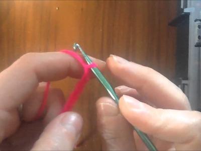 Uncinetto 1° lezione: catenella, maglia bassa e bassissima