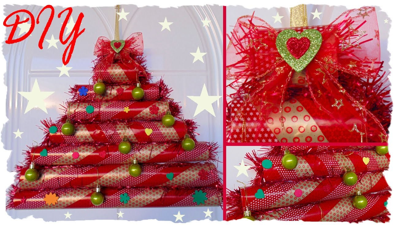 DIY XmAs: Alberello Natalizio | Riciclo Creativo | DIY CHRISTMAS Room Decoration