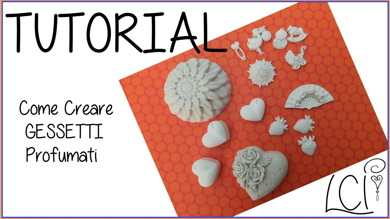 DIY Tutorial  - Come Creare Gessetti Profumati (Home Decor) - Handmade Scented Chalks