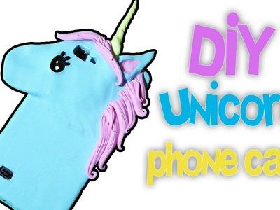 DIY | Unicorn phone case tutorial POLYMER CLAY