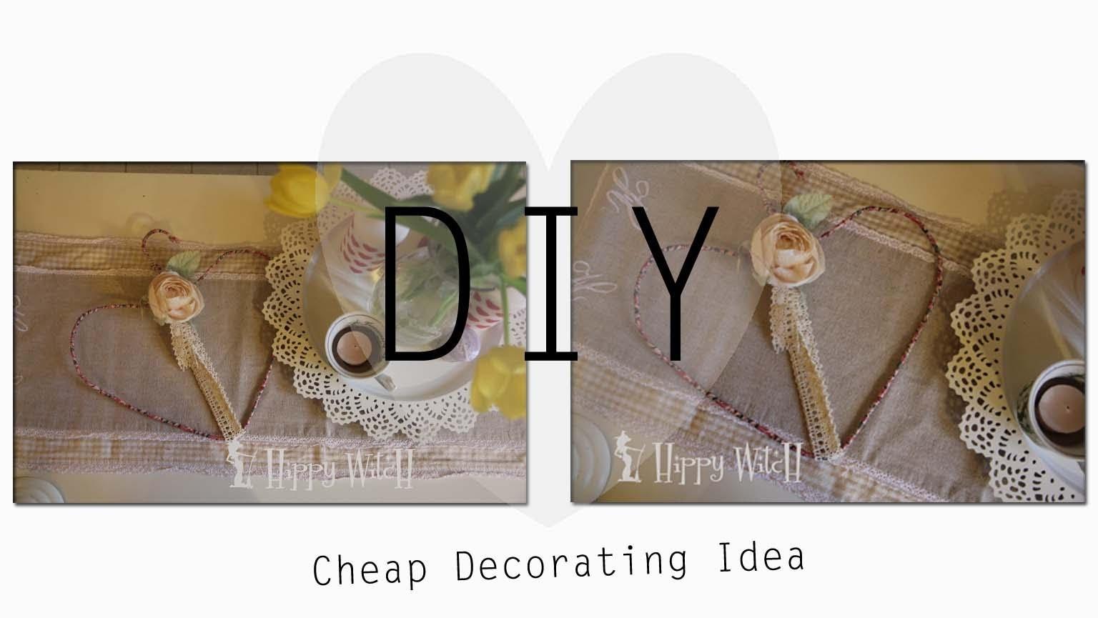 Come riutilizzare una GRUCCIA DIY: Cheap Decoration Idea ❤