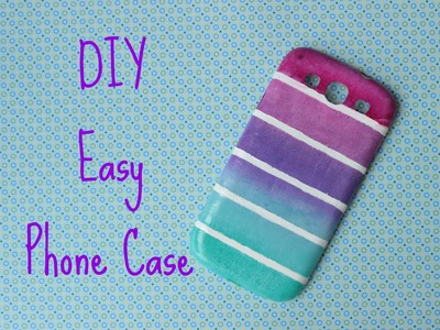 DIY: Easy Phone Case - Cover Tutorial