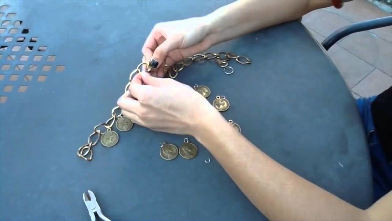 DIY  Ethnic necklace
