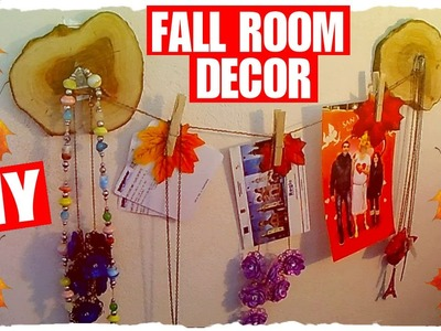DIY Fall Room Decoration: Ghirlanda Autunnale porta Foto ed Accessori