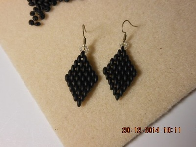 DIY- it- tutorial- come fare un rombo con twinbeads facile