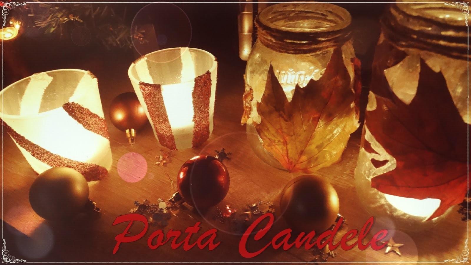 """DIY Porta Candele  ~Riciclo Creativo~ in Collaborazione con il Gruppo """"KettyCentos&Company""""  ❤"""