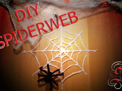 DIY - Tutorial Halloween RAGNATELA (SPIDERWEB)   Serendipità