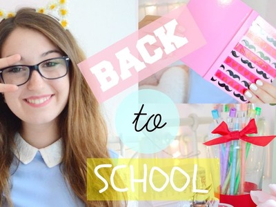 BACK TO SCHOOL 2015 - DIY SUPER CUTE SCHOOL SUPPLIES | itsLucretia