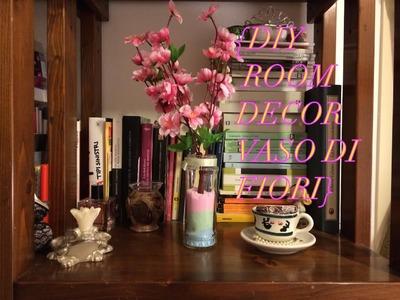 Diy Room Decor Vaso Riciclato di Fiori Kawaii