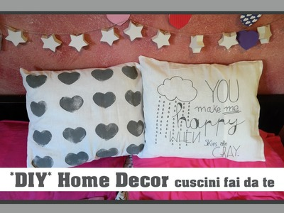 *DIY* Home Decor - Cuscini fai da te | Elena Dreamer