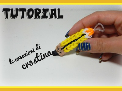MATITA Staedtler con Elastici RAINBOW LOOM - DIY Pencil Charm Tutorial Back to School
