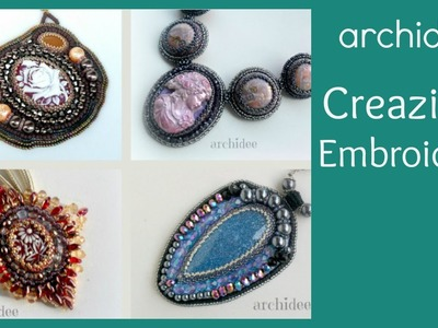 Embroidery | Creazioni | DIY Bead Embroidery Creations