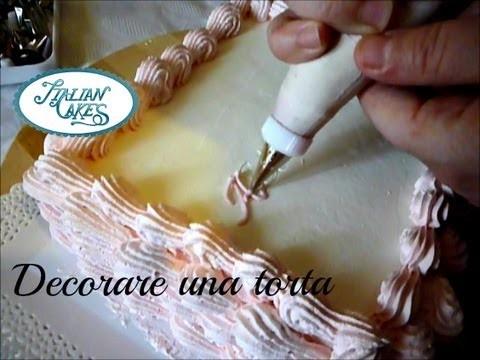 Decorare una torta di compleanno decorate a birthday cake - Decorare una porta ...