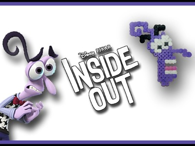 PAURA di Inside Out con HAMA BEADS.PYSSLA - DIY Tutorial Fear Charm