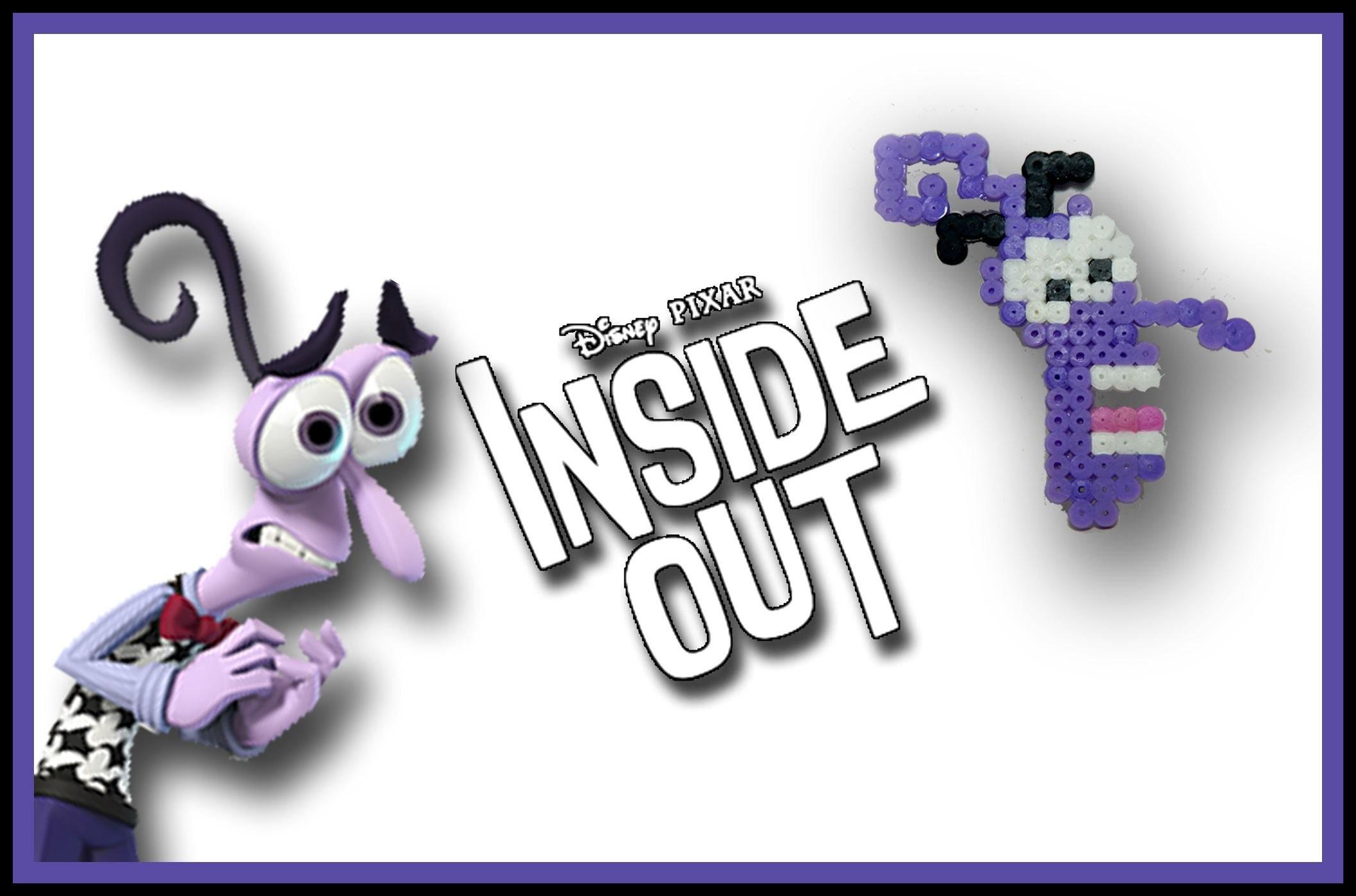 PAURA di Inside Out con HAMA BEADS.PYSSLA - DIY Tutorial Fear Charm