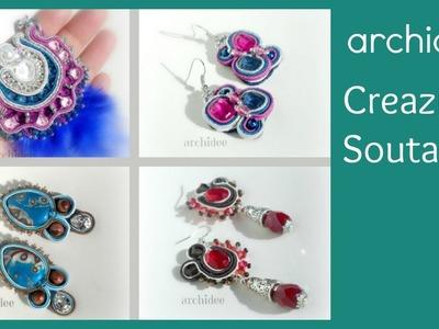 Soutache | Sutasz | Creazioni | Orecchini e Collane | Earrings and Necklaces