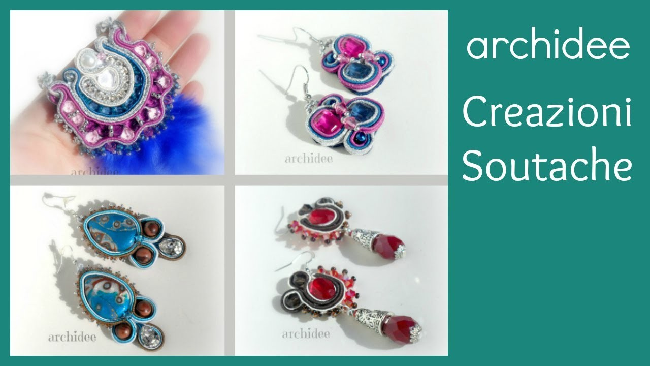 Soutache | Sutasz | Creazioni | Orecchini e Collane | Earrings and Necklaces
