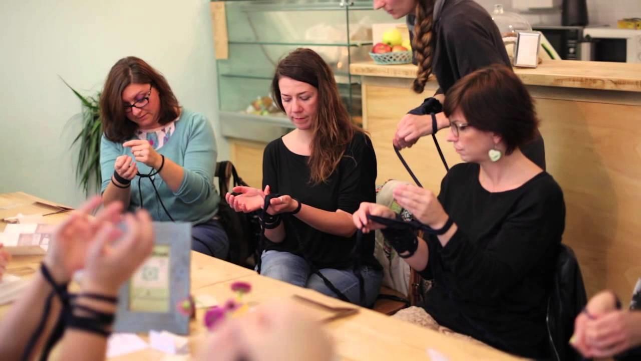 Workshop Arm Knitting al Lab Cafè - Milano 3 Ottobre 2015