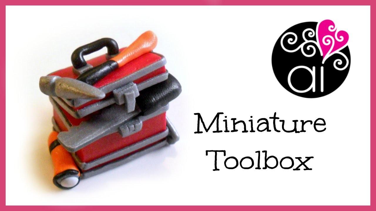 Miniature Toolbox Tutorial | Miniatura Cassetta degli Attrezzi | DIY Craftsman's Tools