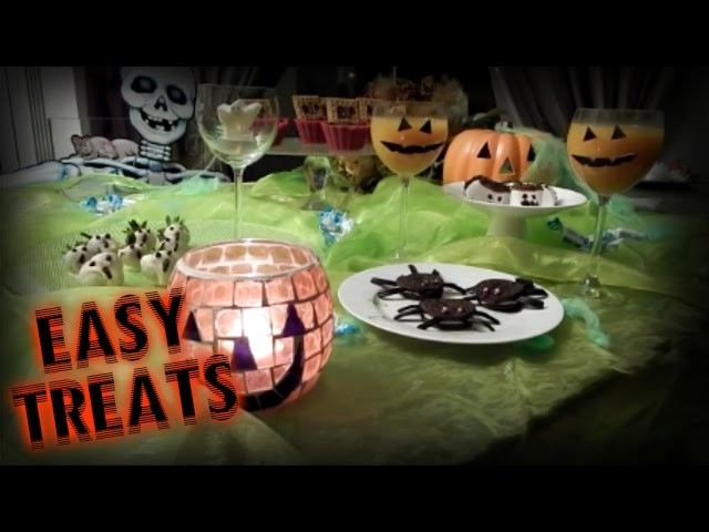 DIY Easy Halloween Treats