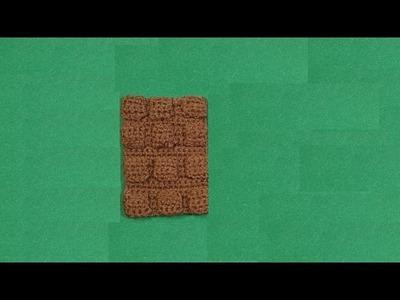 Cioccolato all'uncinetto  tutorial -  crochet chocolate