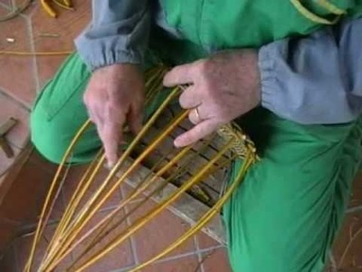 Come fare cesti di canna e vimini -PARTE 2.2-