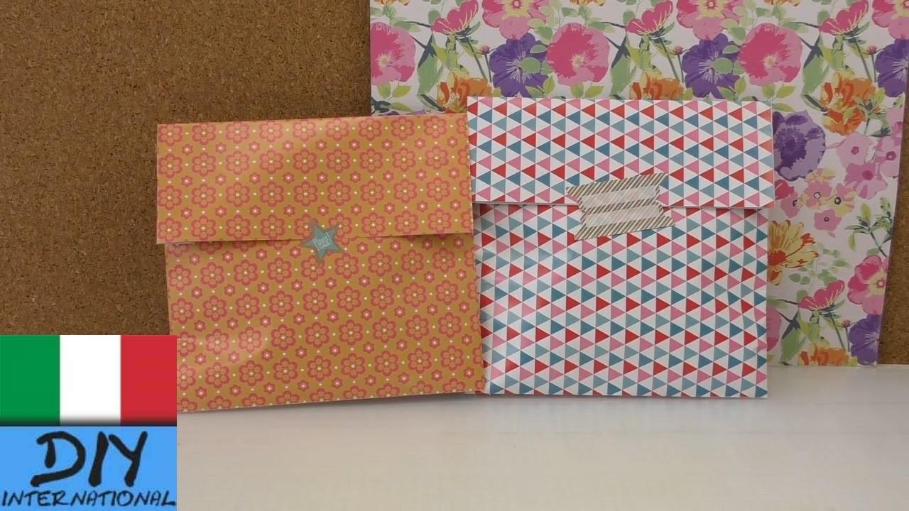 Confezione regalo in 1 minuto – bellissimo sacchetto di carta per le piccole cose- per la mamma