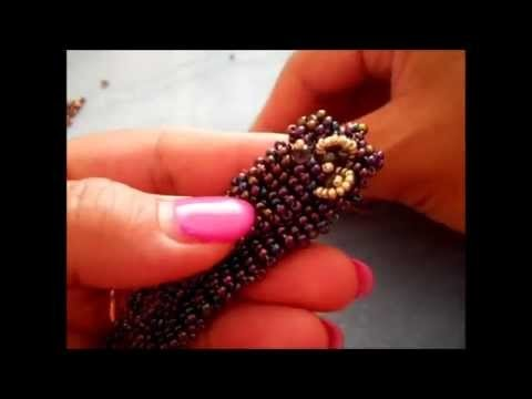 DIY Bracciale di perline con Telaio di cartone