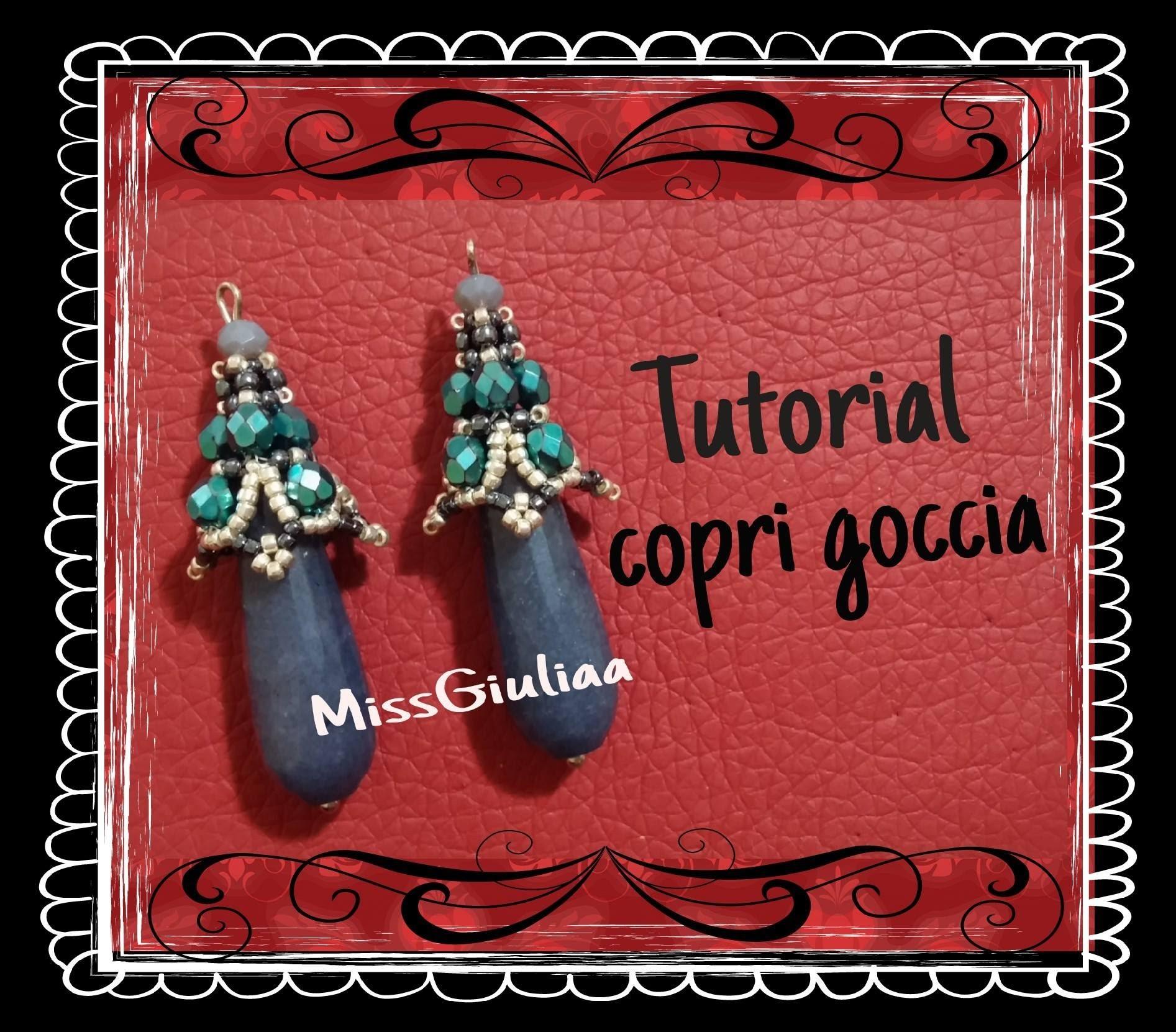 DIY: Copri goccia, decorazione Orecchini Easy