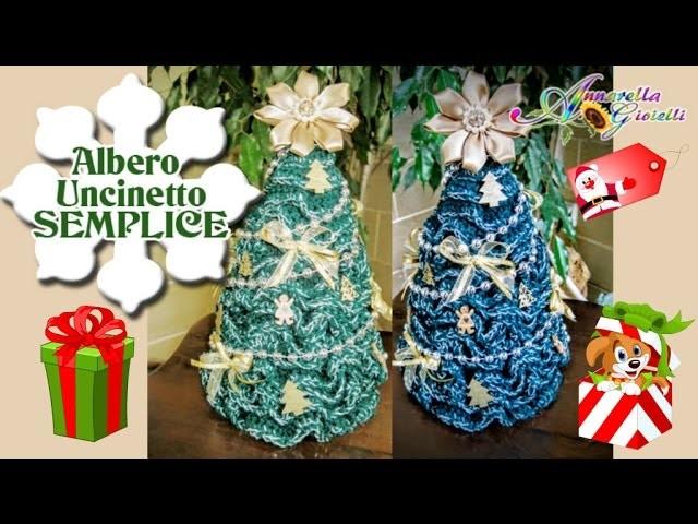 FACILISSIMO   ALBERO di Natale all'Uncinetto   How to crochet Christmas Tree