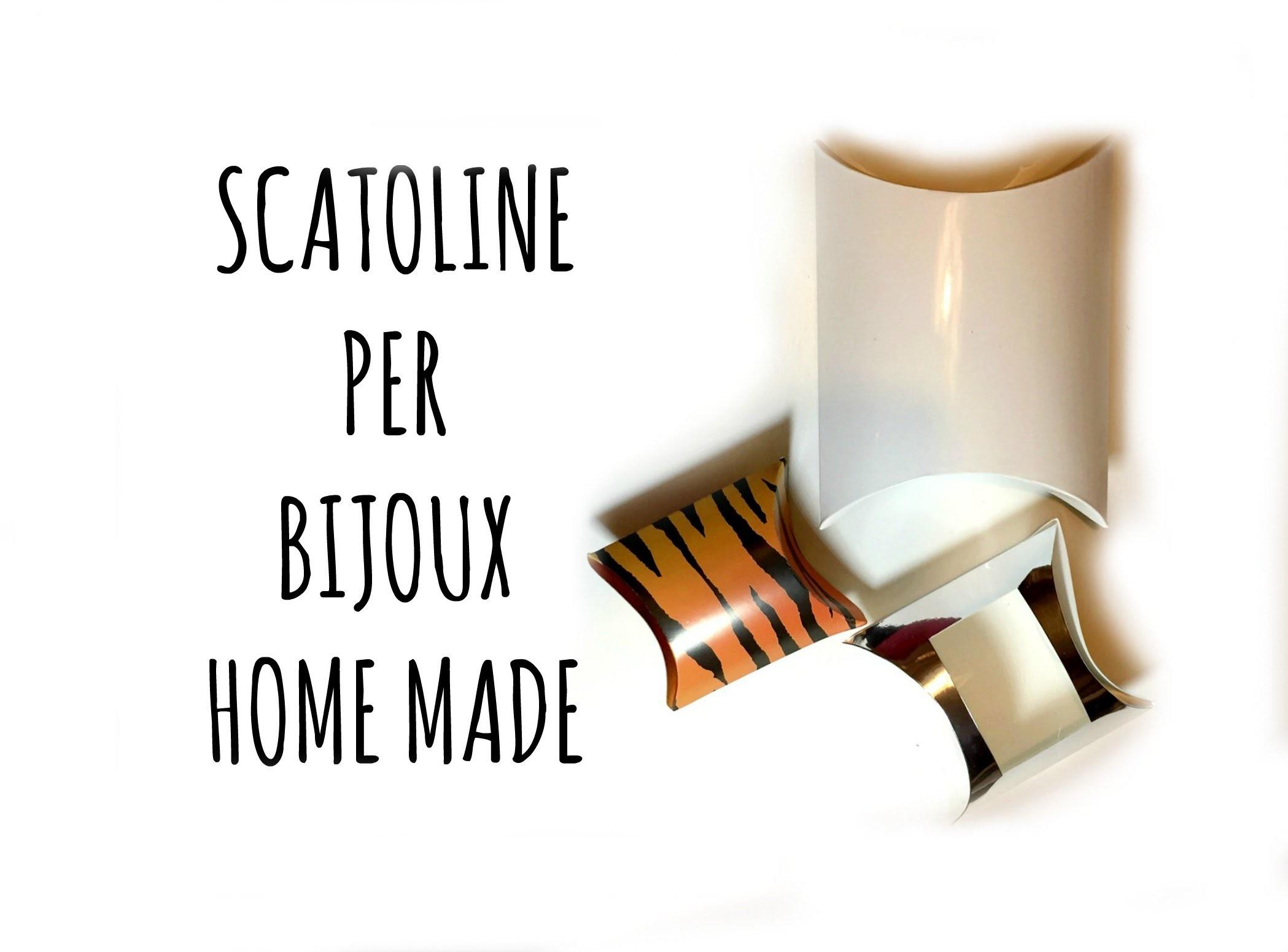 How To SCATOLINE per BIJOUX home made (D.I.Y.) Arte per Te
