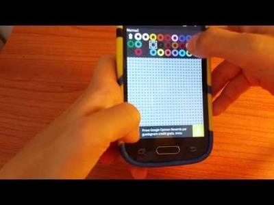 Review App  Bead Studio per fare le pyssla !!!
