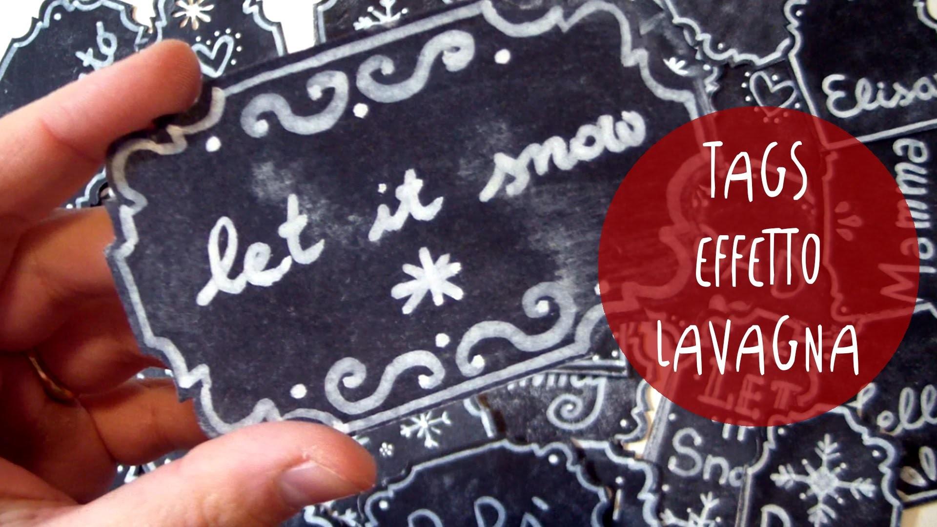 Tutorial come fare ETICHETTE effetto LAVAGNA per decorare pacchettini by ART Tv