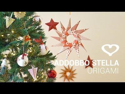 Tutorial: Come realizzare una stella origami per addobbare casa - La Figurina