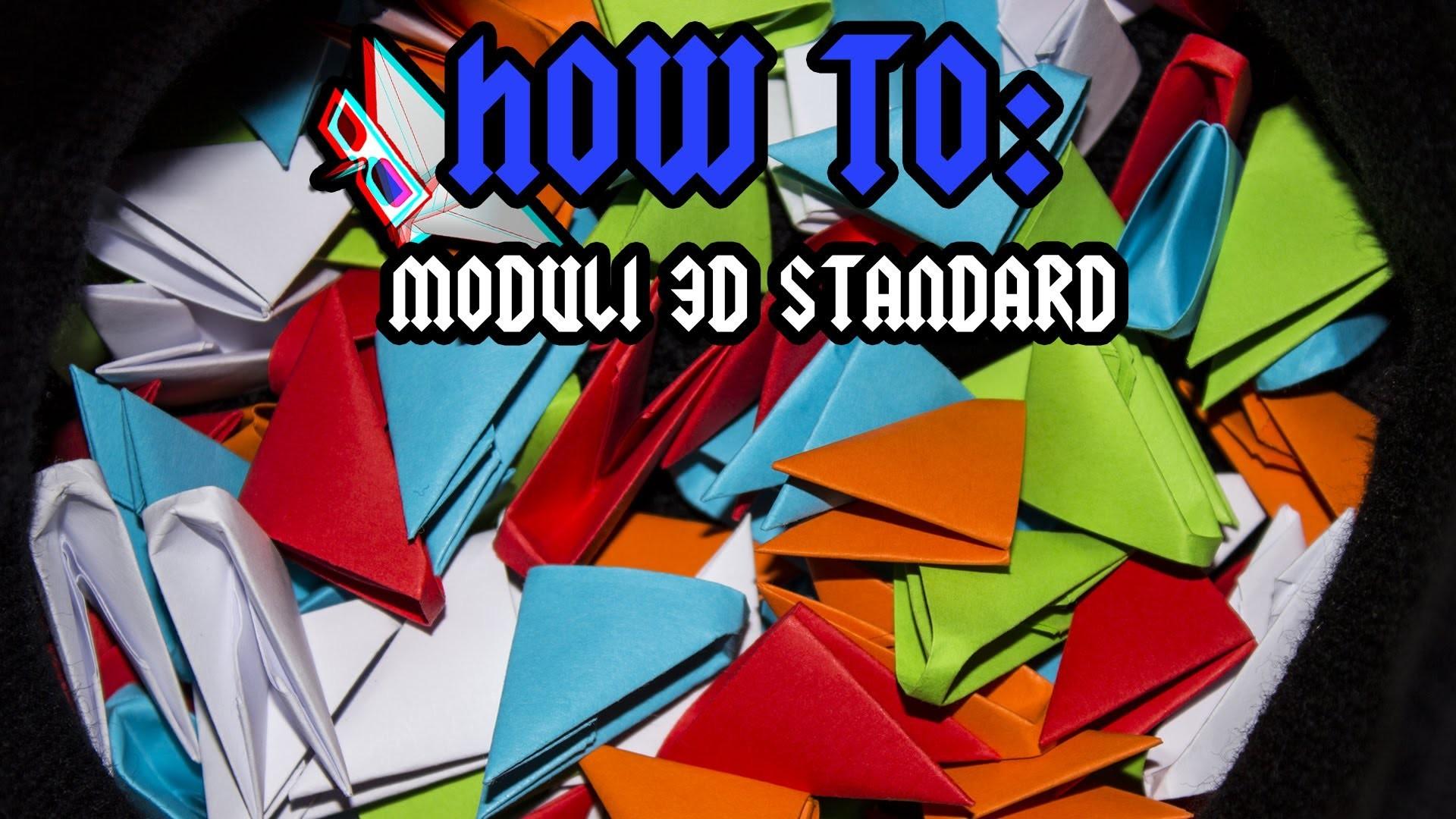 [ITA] Ottenere Moduli Per Origami 3D
