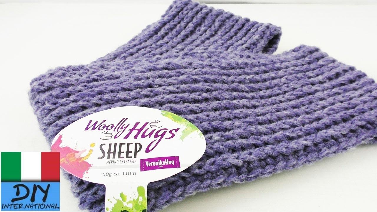 Sciarpa doppio giro con lana Wooly Hugs   Struttura per una sciarpa invernale   Sciarpa Warmer Loop