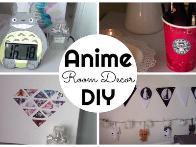 Anime inspired Room Decor DIY (ITA)| Chibiistheway