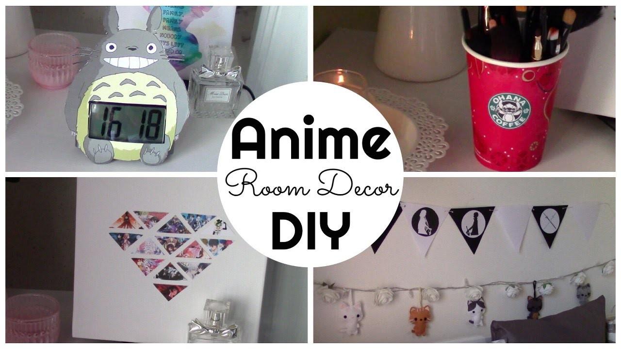 Anime inspired Room Decor DIY (ITA)| Chibiistheway