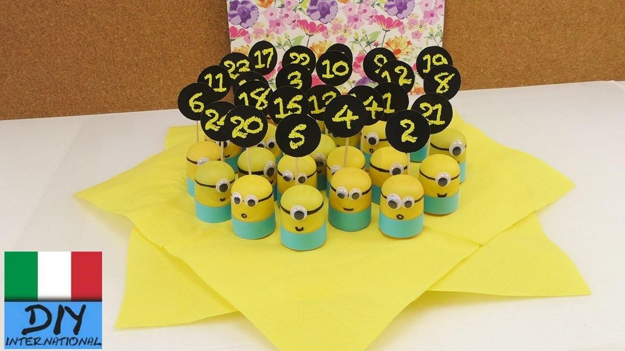 Calendario dell'Avvento dei Minions | Super dolce calendario dell'avvento per fans dei Minions