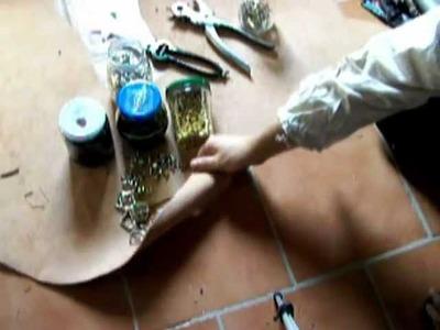 Materiali per la lavorazione del cuoio